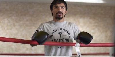 Manny Pacquiao se emociona al pensar en una pelea ante Floyd Mayweather. Foto:Foot Locker