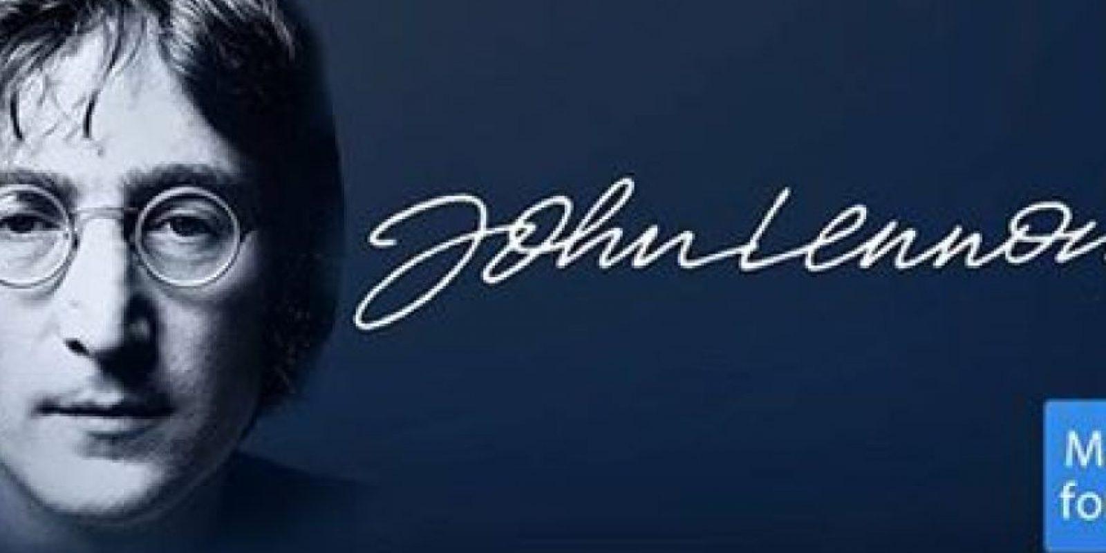 """""""Dios es un concepto, a través del cual medimos nuestro dolor"""" Foto:Facebook: John Lennon"""