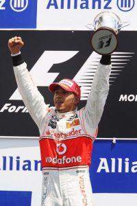 El 10 de junio de 2010 ganó el GP de Canadá Foto:Getty Images