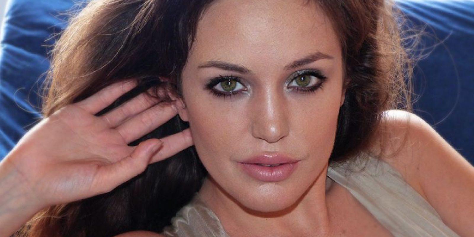 La doble de Angelina Jolie Foto:Facebook/Lina Sands