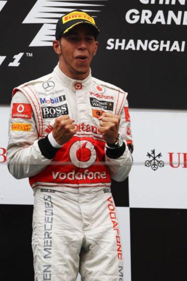 En 2011 partió el año venciendo en la tercera fecha del calendario, el GP de China Foto:Getty Images