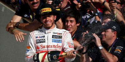 El 18 de noviembre de 2012 fue el mejor en el GP de Estados Unidos Foto:Getty Images