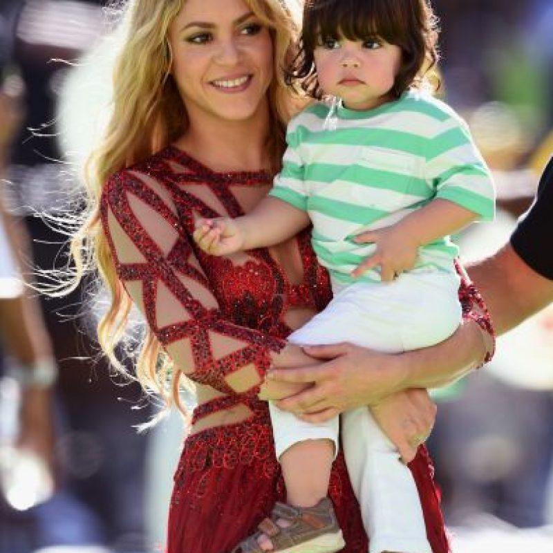 El nombre completo de la cantante es Shakira Isabel Mebarak Ripoll Foto:Getty Images