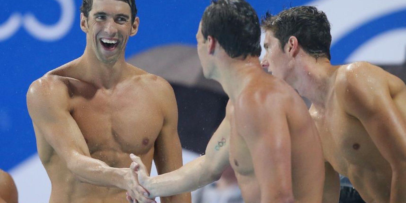 El nadador no ha confirmado ni desmentido los dichos de Taylor Lianne Chandler Foto:Getty Images