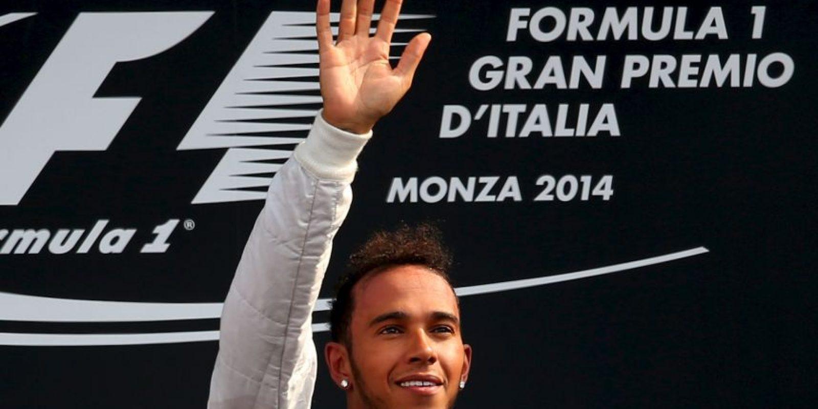 El 7 de septiembre dejó a todos atrás en el GP de Italia Foto:Getty Images
