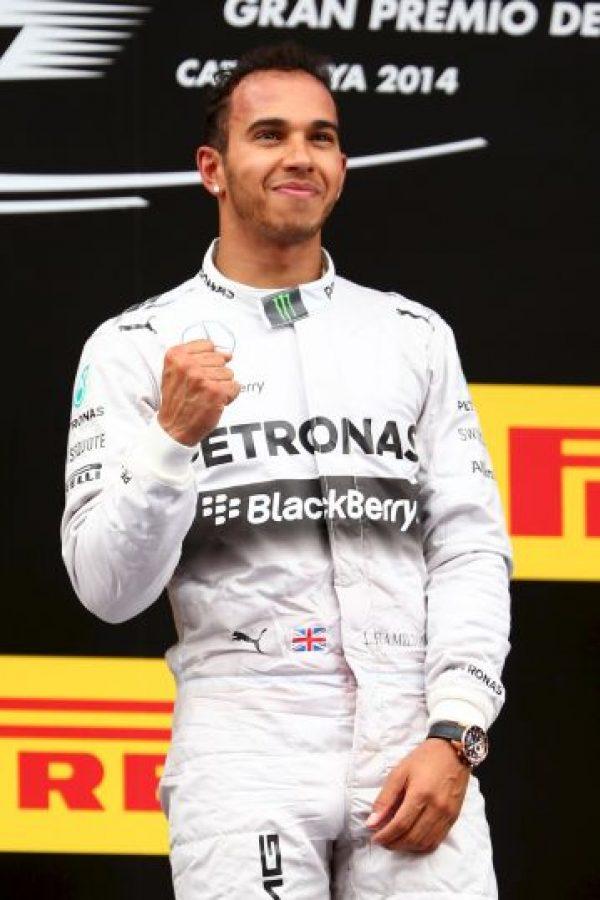 Por primera vez en su carrera se impuso en el GP de España. Ocurrió el 11 de mayo de este año. Foto:Getty Images