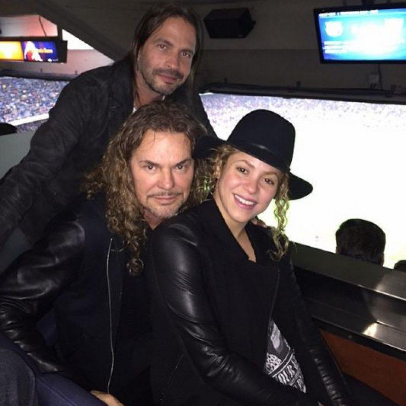 Shakira, Fher Olvera y Sergio Vallín Foto:Instagram @shakira