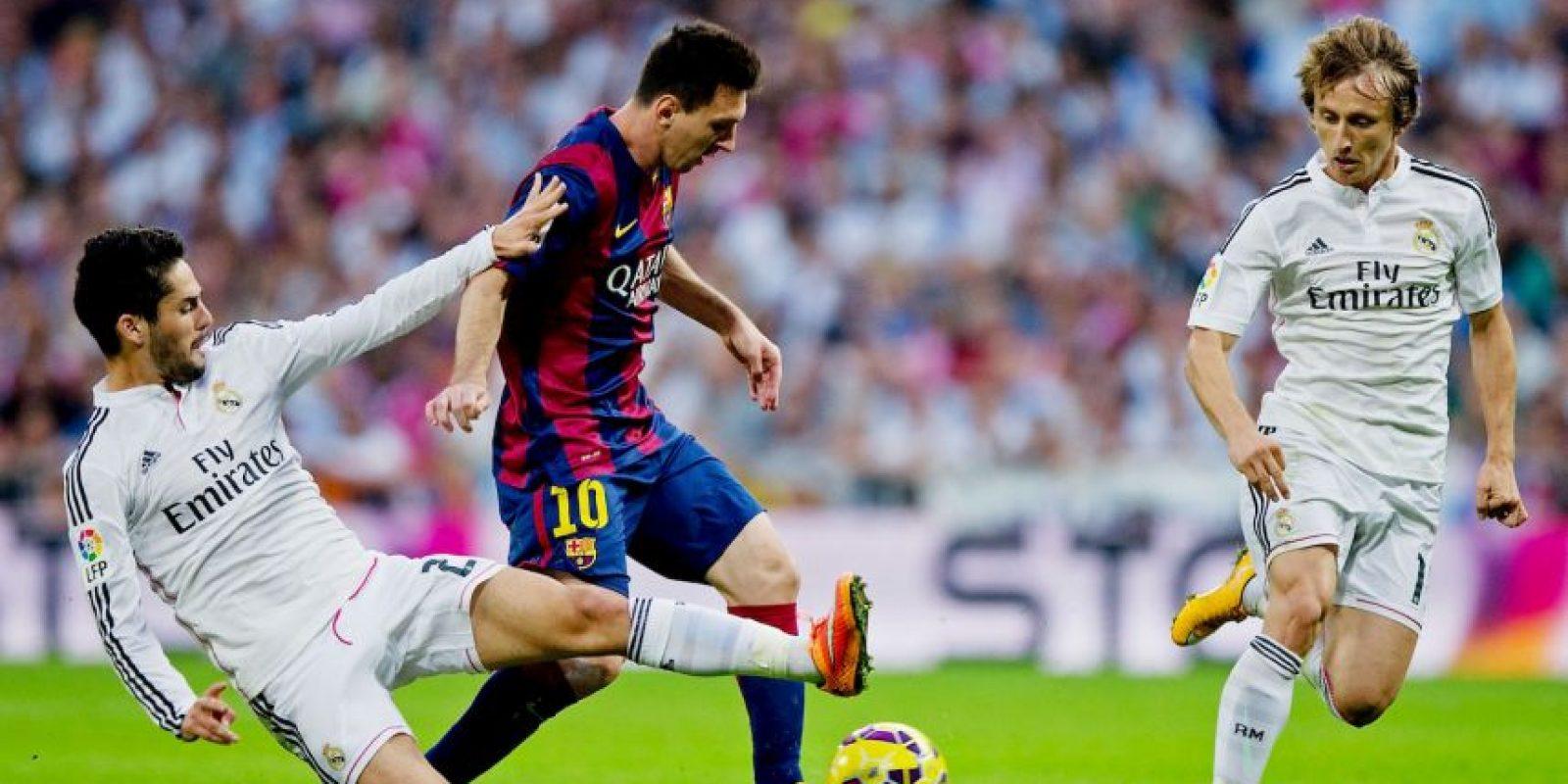 Máximo goleador histórico en la Liga de Campeones, igualado con Raúl, con 71 goles. El argentino lo ha conseguido en 90 partidos, mientras que el exmadridista los logró en 142 partidos. Foto:Getty Images
