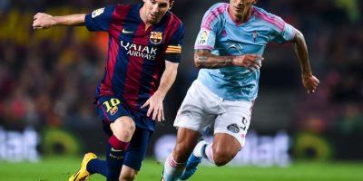 Máximo goleador absoluto en un año natural: 96 goles el año 2012. 84 con el Barça -59 en la Liga, 13 en Champions, 5 en la Copa del Rey, 2 en la Supercopa de España y 5 en partidos amistosos – y 12 con la selección argentina. Foto:Getty Images