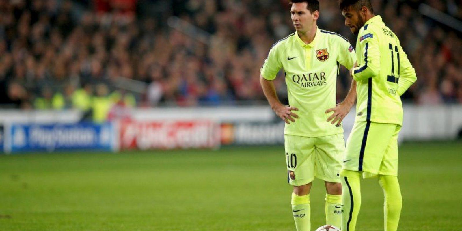 Máximo goleador en una temporada en competiciones oficiales: 73 goles en la 2011/12 -50 en la Liga, 14 en Champions, 3 en la Copa, 3 en la Supercopa de España, 1 en la Supercopa de Europa y 2 en el Mundial de Clubes. Foto:Getty Images