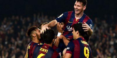 Máximo goleador a domicilio en una temporada en la Liga: 24 goles en la Liga 2012/13. Foto:Getty Images