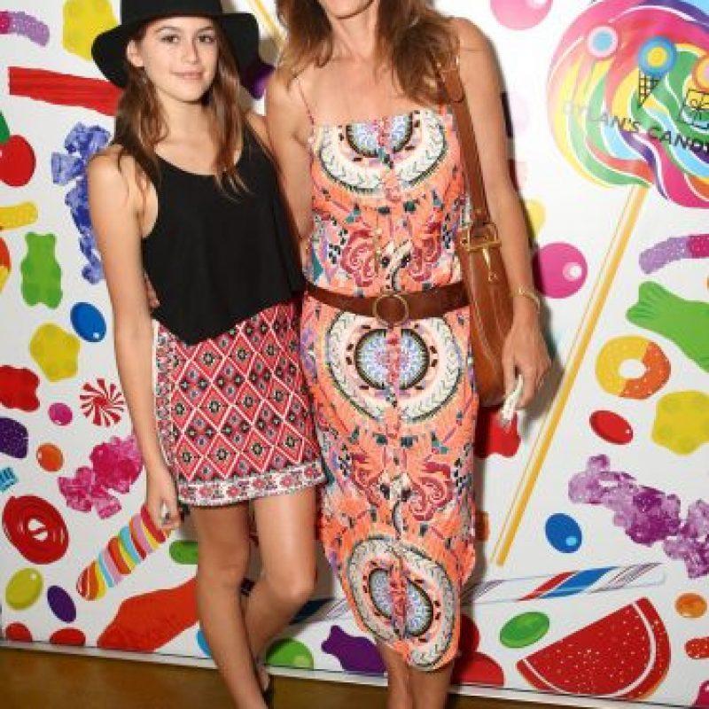 Cindy le da los mejores consejos a su hija Foto:Getty Images