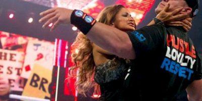 Eve Torres y Cena Foto:WWE
