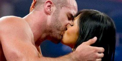Cesaro y Aksana Foto:WWE