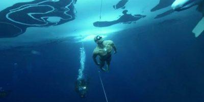 En mayo de 2012, pudo aguantar 22 minutos bajo el agua sin respirar Foto:www.sportalsub.net