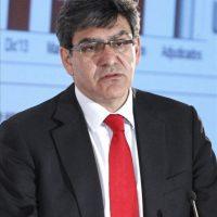 Fotografía realizada el 29/04/2014 de José Antonio Álvarez, hasta ahora director financiero de la entidad, que ha sido nombrado consejero delegado en sustitución de Javier Marín, que accedió al cargo a finales de abril de 2013 tras la marcha de Alfredo Sáenz, según ha informado hoy la entidad a la CNMV. EFE