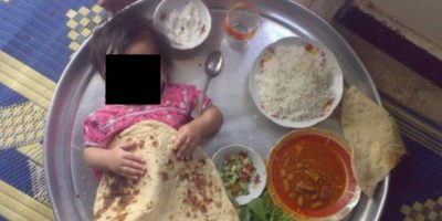 Como aderezo de un plato indio Foto:Facebook