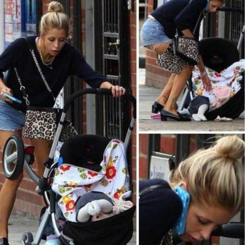 Ella olvidó que traía un bebé Foto:Oddee