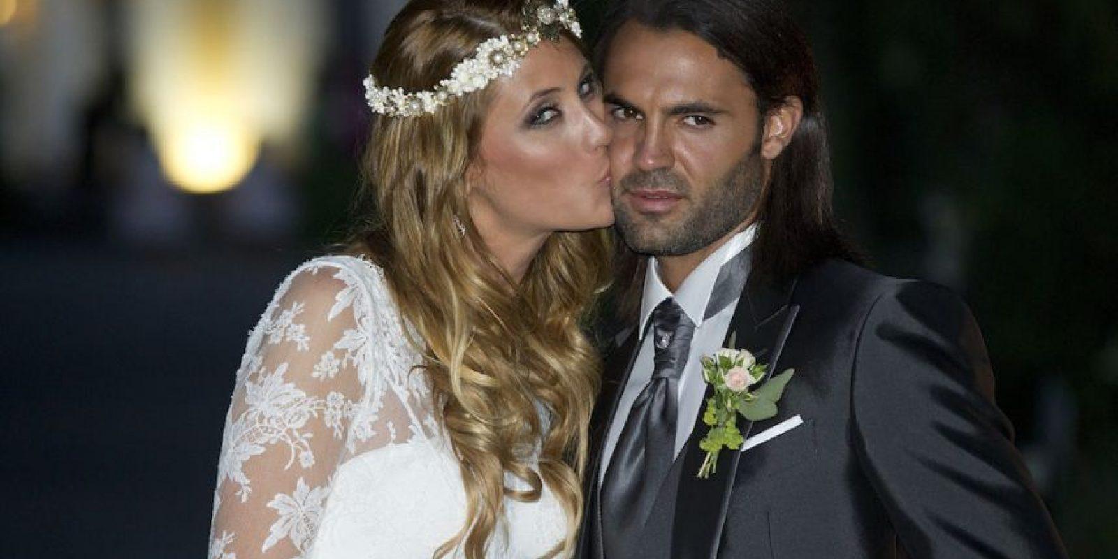 Sergio Sánchez y Elisabeth Reyes.