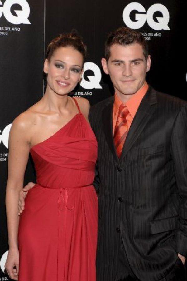 Iker Casillas y Eva González. Foto:Getty Images