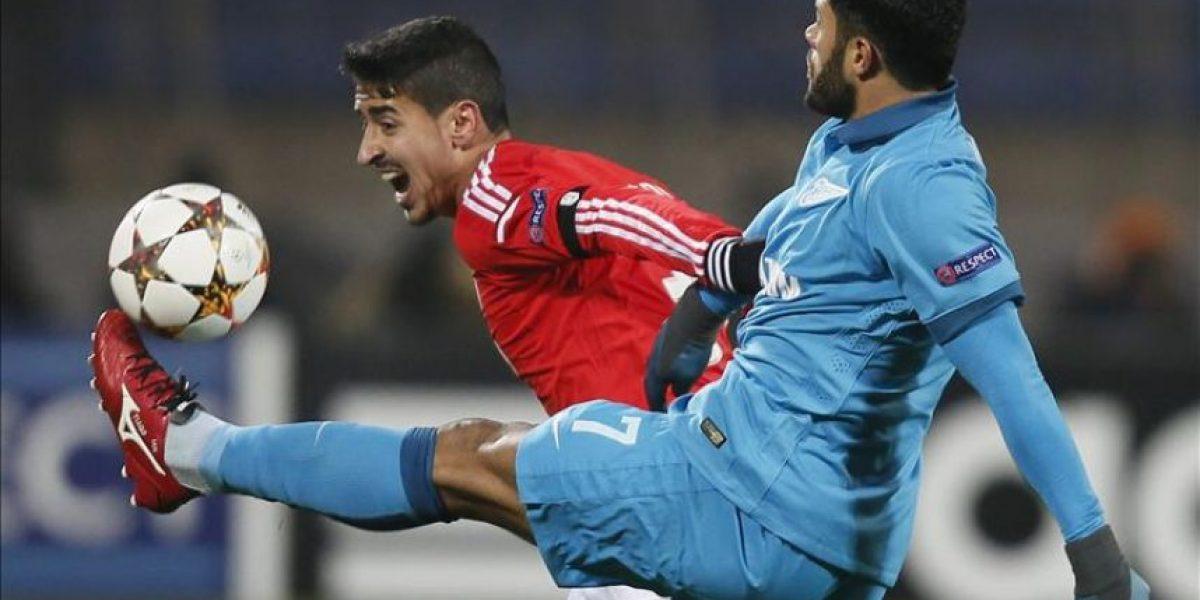 1-0. El Zenit sigue soñando al derrotar a un pobre Benfica