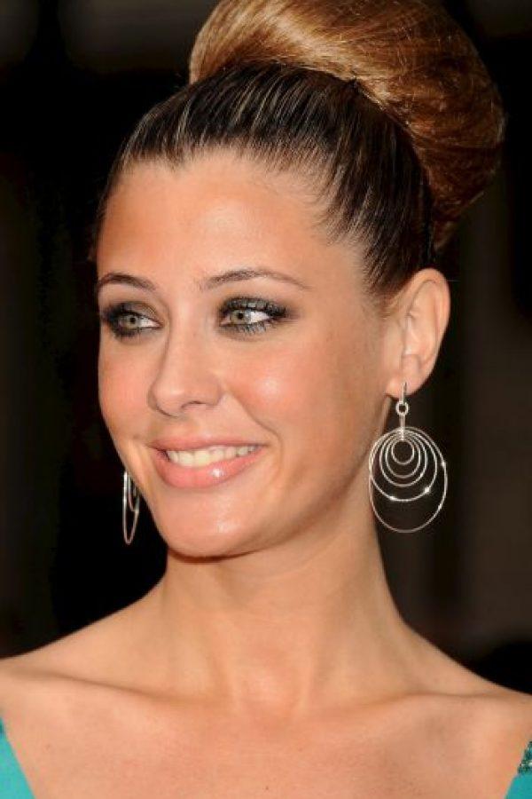 Elisabeth Reyes y el futbolista español Sergio Sánchez se casaron en junio pasado.