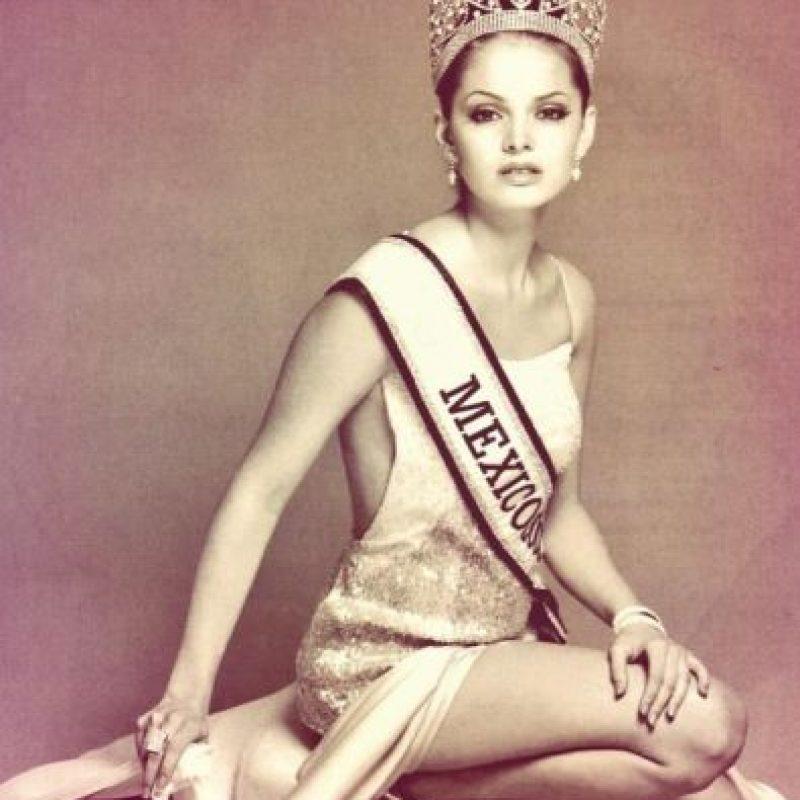 """Marisol González ganó el certamen """"Nuestra Belleza México"""" en 2002. Foto:twitter.com/marisolglzz"""