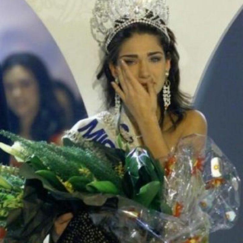 Lorena Bernal resultó ganadora de Miss España 1999. Foto:twitter.com/LoBer99