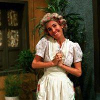 """Florinda Meza se hizo cargo del programa en los años 80 e hizo otros papeles, como el de """"La Chimotrufia"""" Foto:Televisa"""