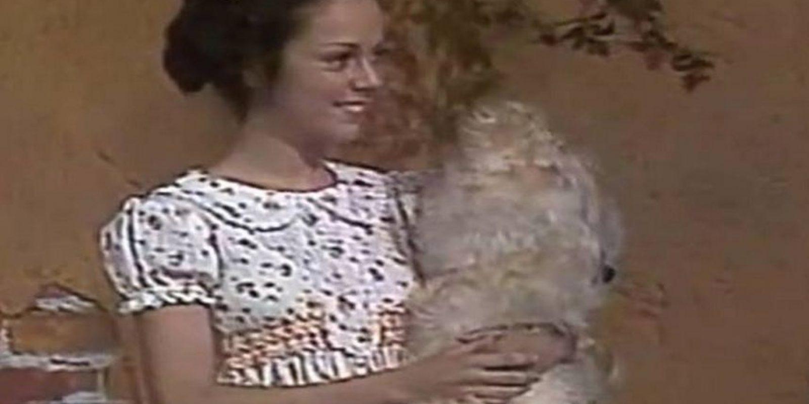 La interpretó desde 1977 hasta 1980 Foto:Televisa