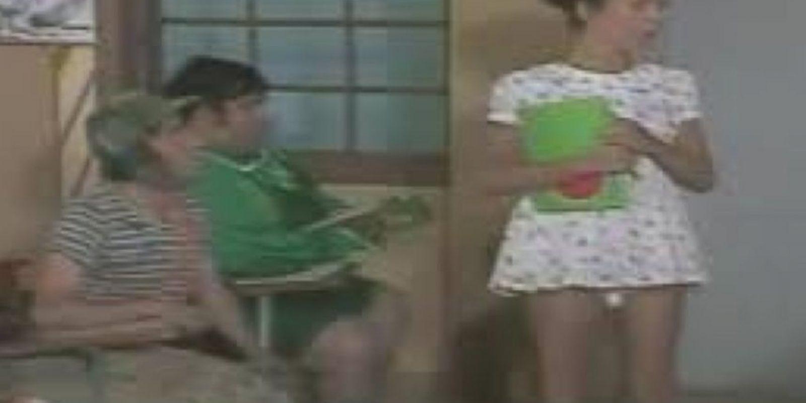 """Ana Lilian de la Macorra era """"Paty"""" el amor de El Chavo Foto:Televisa"""