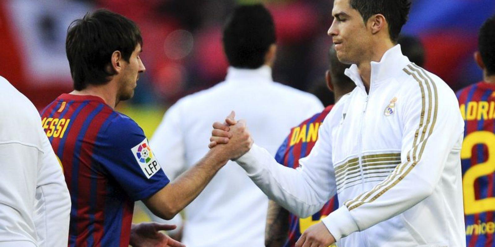 Son los dos mejores futbolistas de la actualidad Foto:Getty