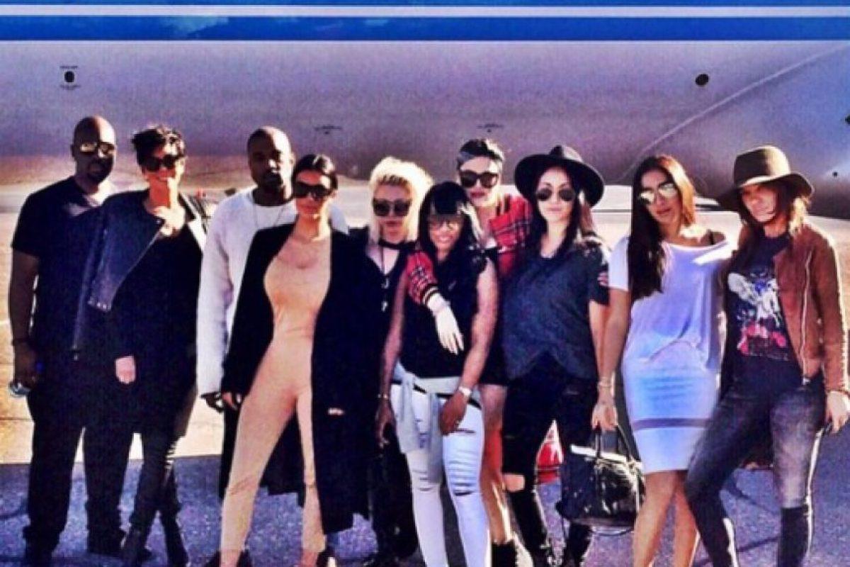 Esta familia suele protagonizar escándalosos romances, peleas y hasta polémicas fotografías en revistas Foto:Instagram/Kim Kardashian