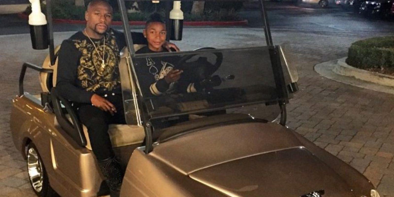 """A """"Money"""" le gusta mostrar sus autos en las redes Foto:Instagram: @floydmayweather"""