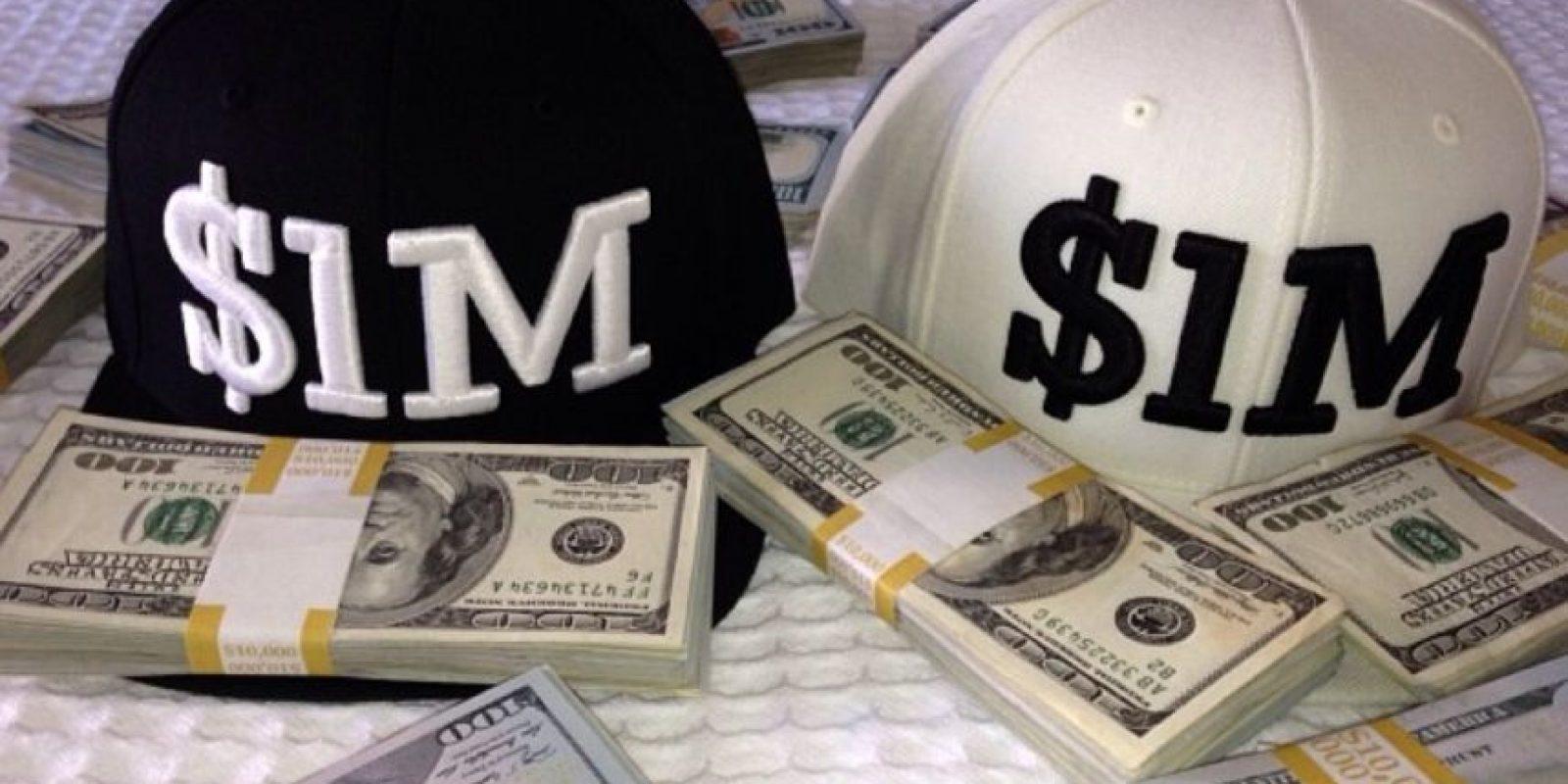 Sus millones de dólares Foto:Instagram: @floydmayweather