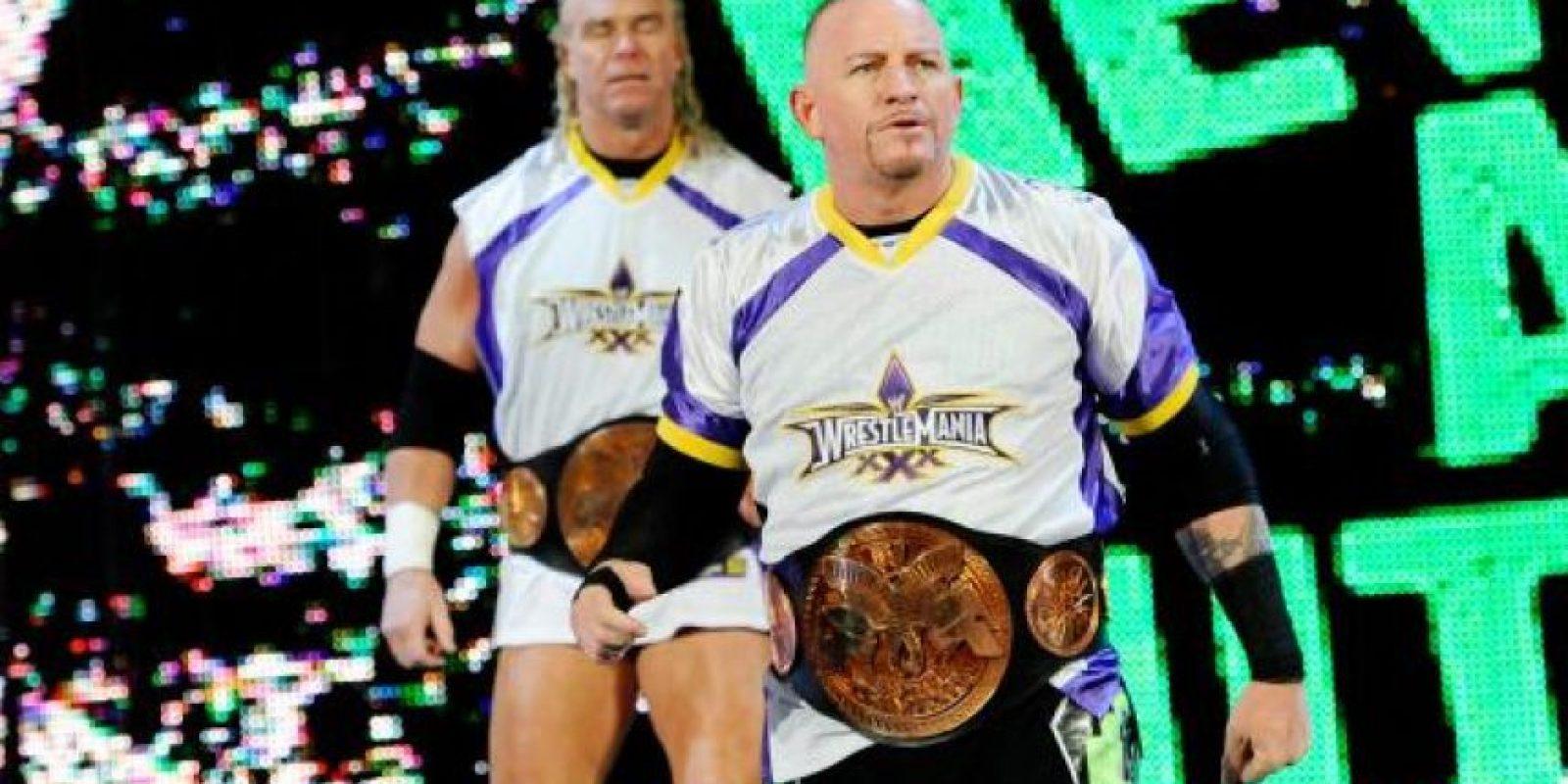 Fue detenido en 1990 por conducta desodenada Foto:WWE