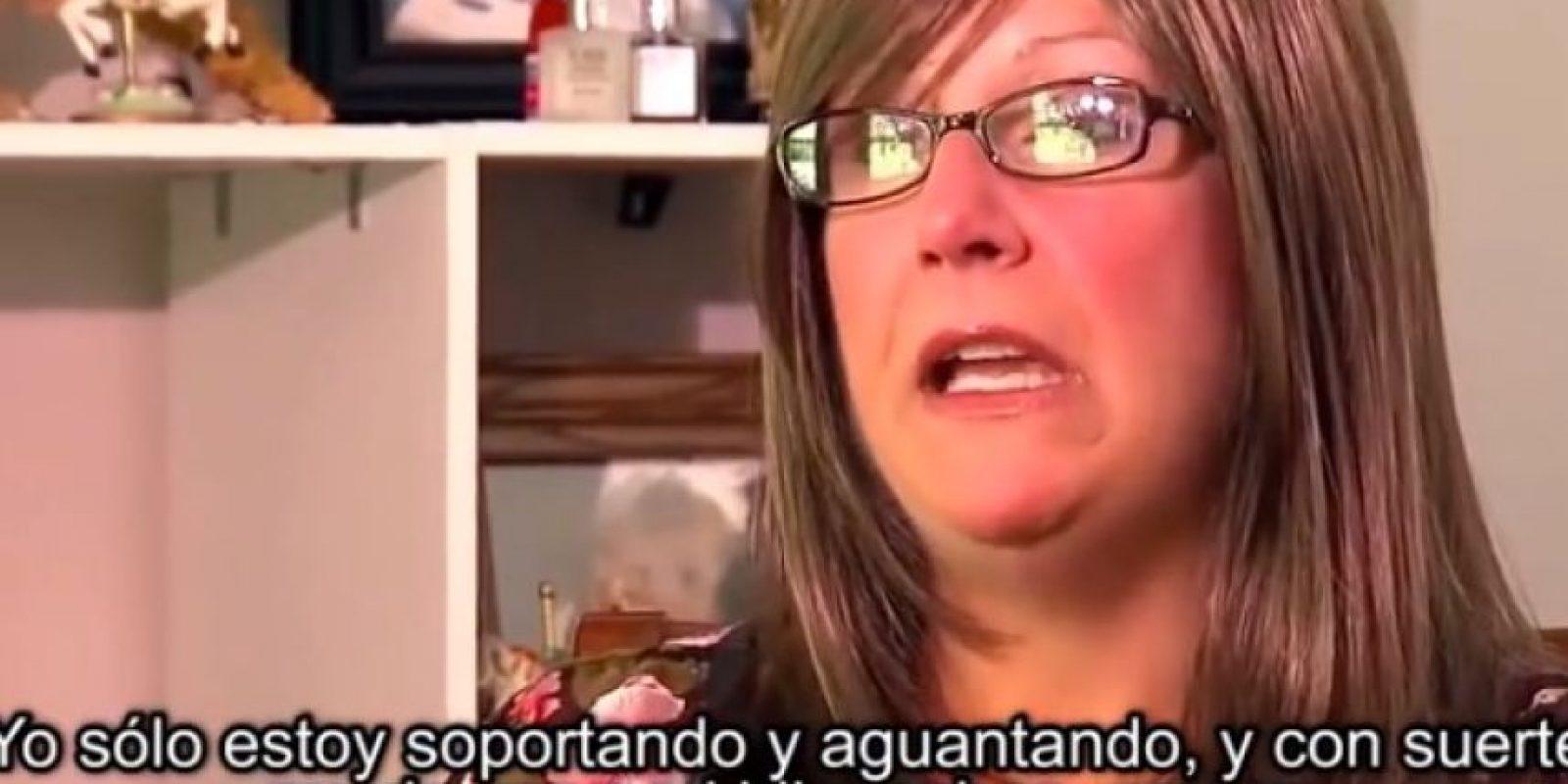 4. Tricia Somers buscó un hogar para su hijo antes de morir. Foto:Vía You Tube