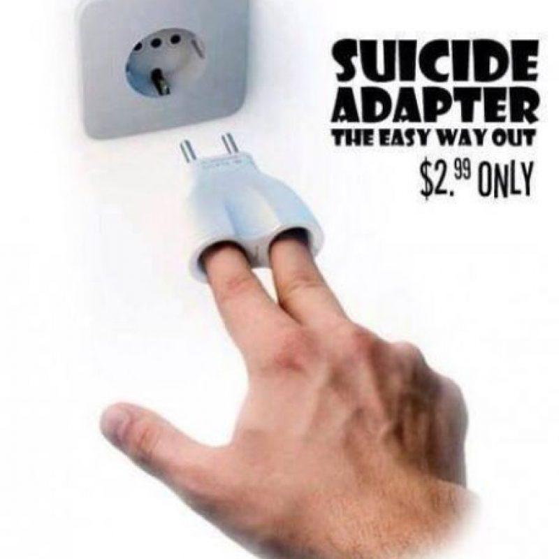 """""""Adaptador para suicidarse"""" Foto:Instagram"""