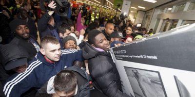 Esta imagen corresponde a una tienda en Wembley, Londres Foto:AP