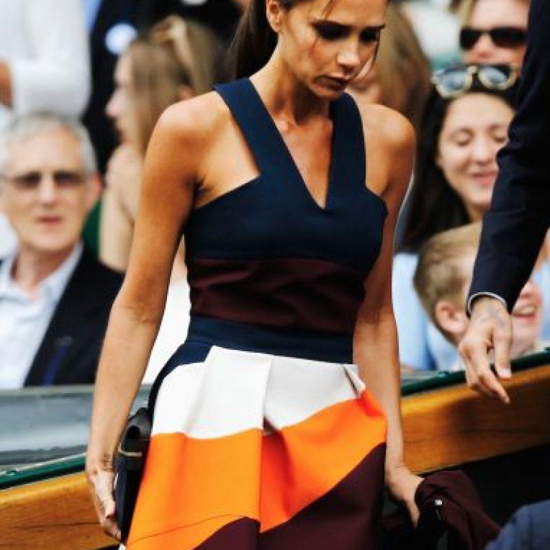 La ex Spice Girl admitió que decidió incursionar en el mundo de la moda para demostrarse que podía triunfar sola. Foto:Getty Images