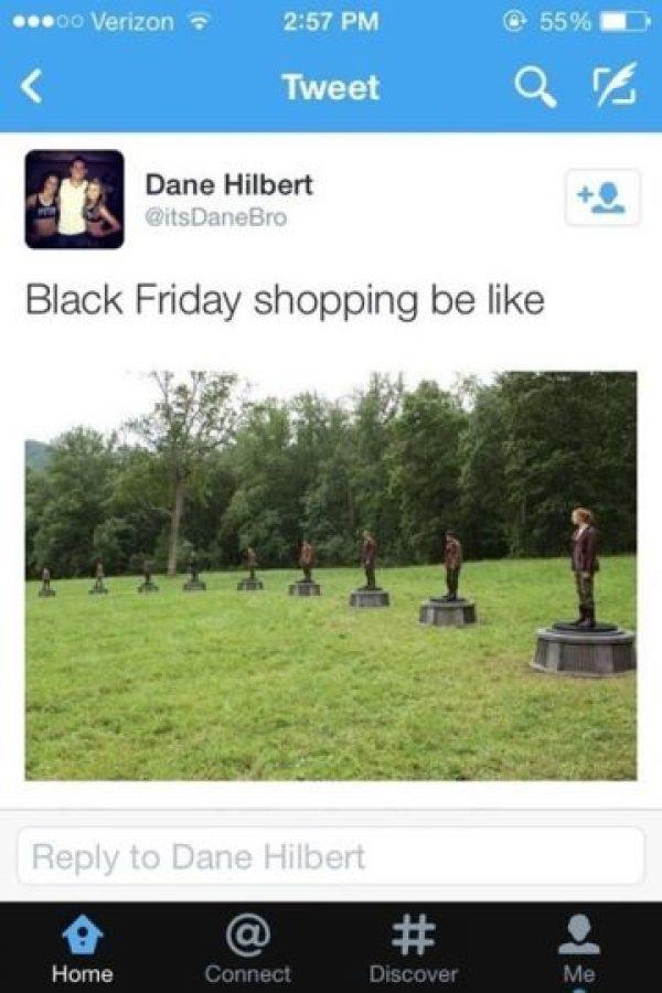 """""""Ir de compras en el Black Friday es como…"""" Foto:Instagram"""