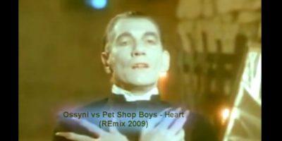 Ian McKellen – 'Heart' de Pet Shop Boys: Todavía no era Gandalf el gris y menos Gandalf el blanco, primero McKellen fue un vampiro en este video de los Pet Shop Boys. Foto:YouTube