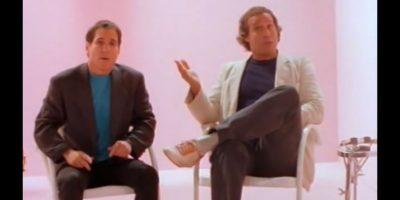 Chevy Chase – 'You can call me Al' de Paul Simon: El famoso comediante ya era toda una estrella de Saturday Night Live cuando aceptó protagonizar el video de Paul Simon y fue todo un éxito. Foto:YouTube