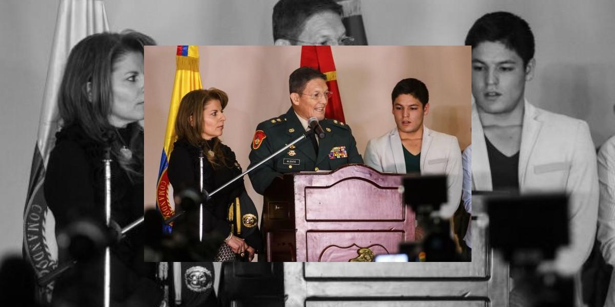 Las explicaciones del general Alzate sobre su secuestro