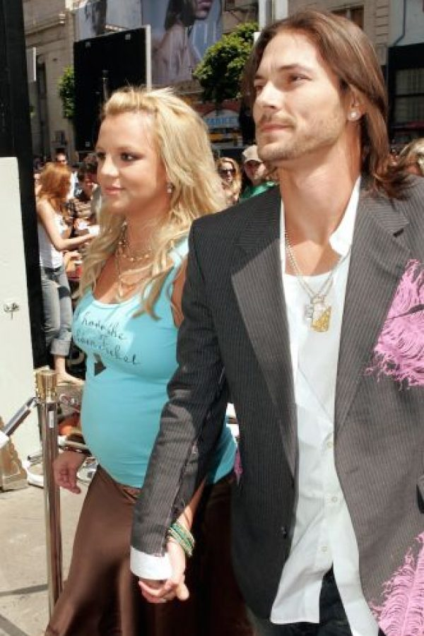 Britney Spears y Kevin Federline (julio 2005) Foto: Getty Images