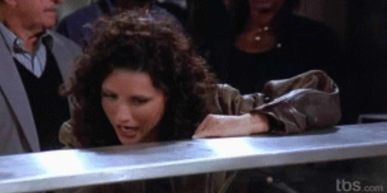 """2. Elaine (en la foto, Elaine, de """"Seinfeld""""). Foto:Tumblr"""