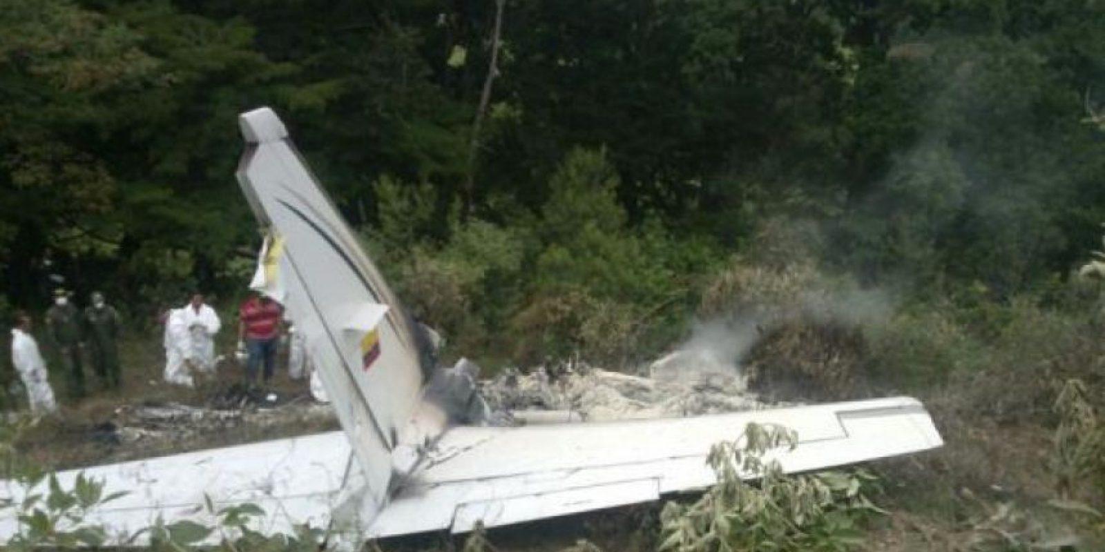 La aeronave había partido de Bogotá, rumbo a Chocó. Foto:El Nuevo Día.