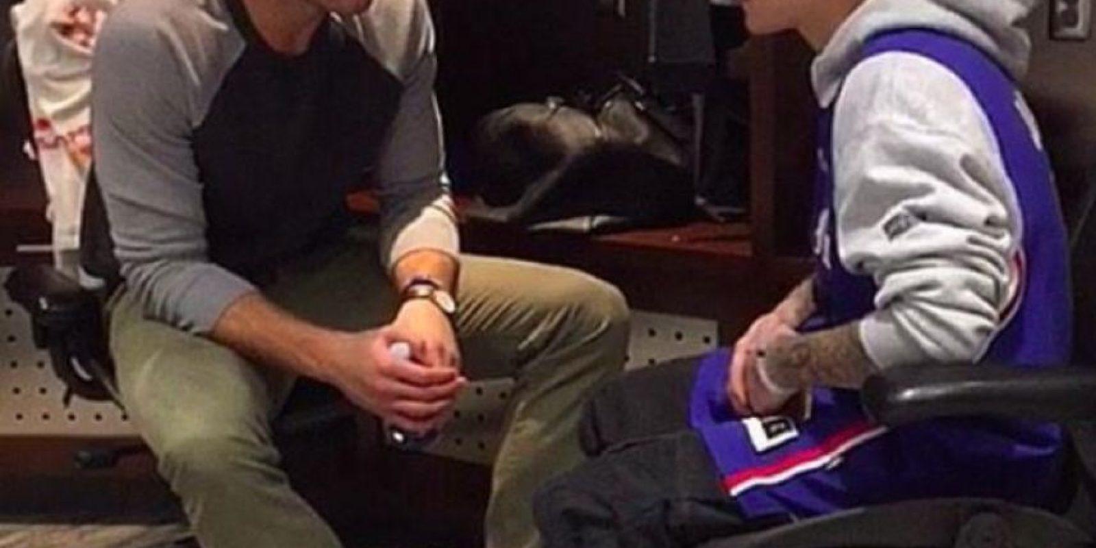 Charló con Blake Griffin Foto:Instagram: @justinbieber