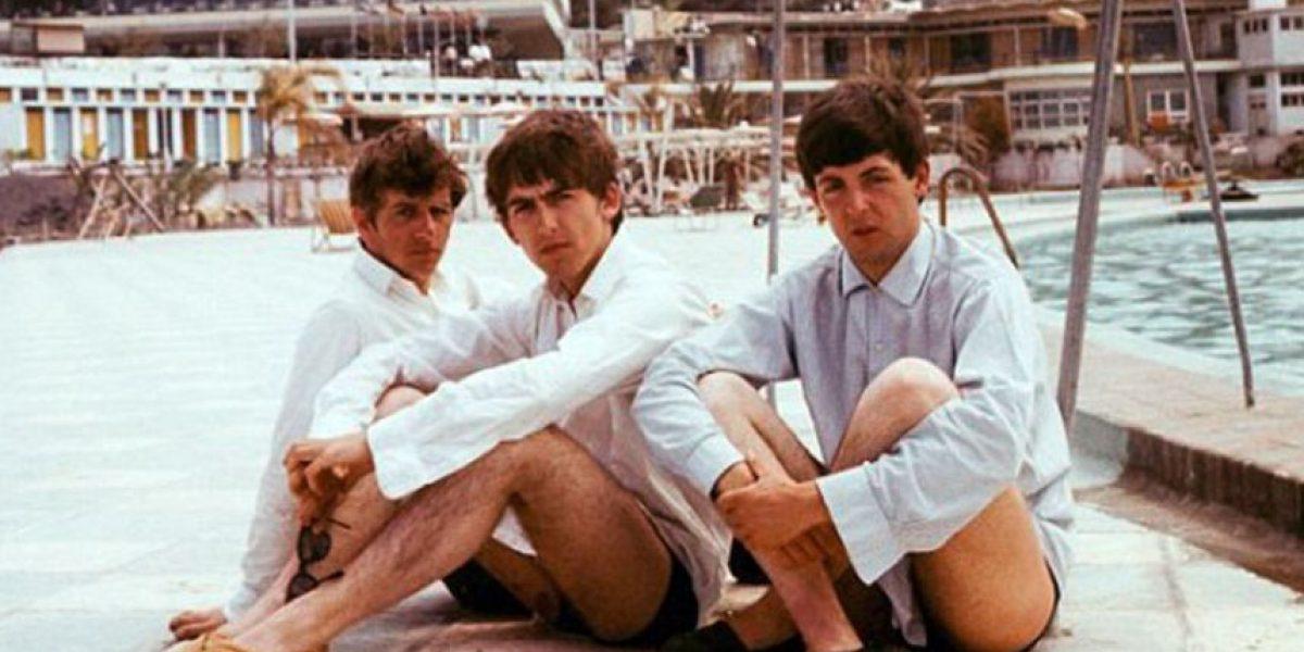 Subastarán fotos de Los Beatles de vacaciones en 1963