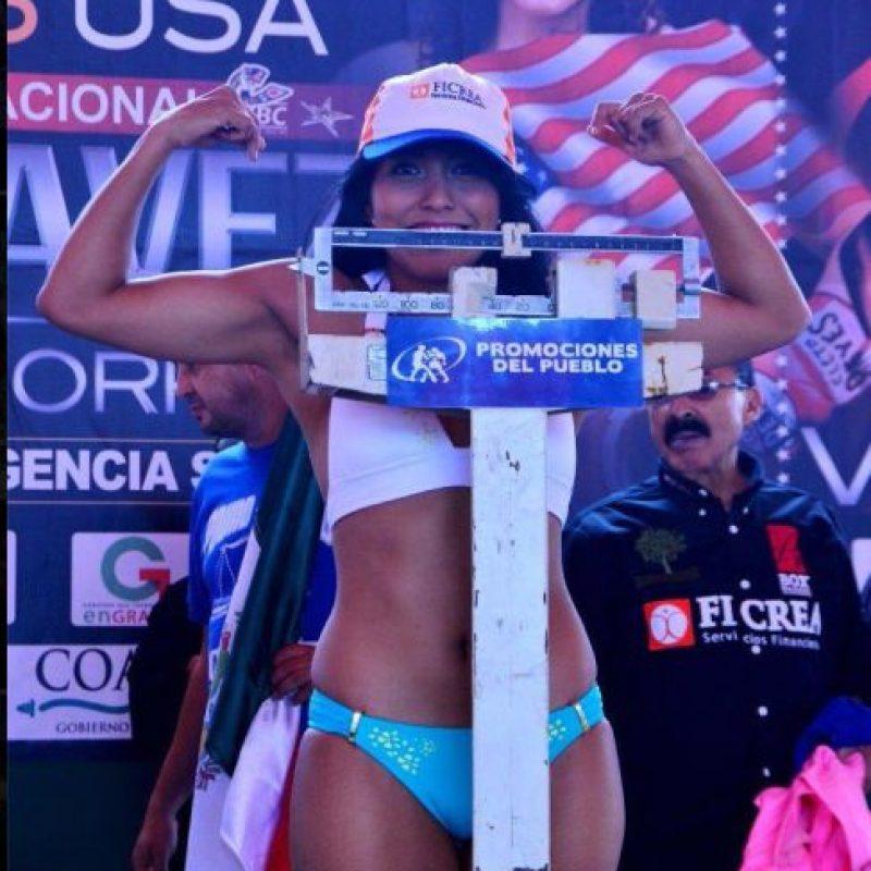 """La mexicana de 26 años es la ex moncarca Minimosca del CMB Foto:Facebook: YESSICA """"KIKA"""" CHAVEZ"""